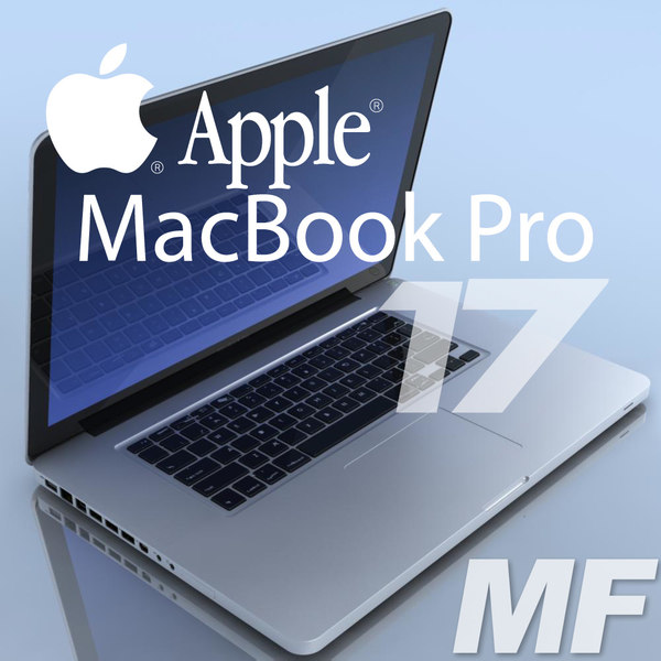 notebook apple macbookpro 17 3ds