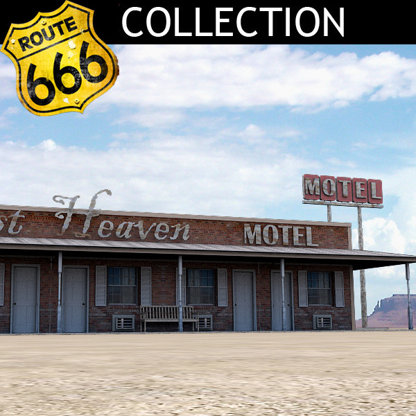 max highway motel - Highway Motel... by Clicheeee