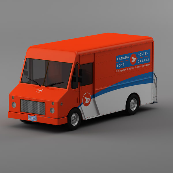 courier trucks morgan olson max - UPS, Canada post, DHL, Purolator and NON BRAND  Courier tr... by Leeift