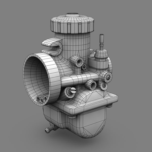 3d carburetors machine - Mikuni 36mm Carburetor... by Jamie Hamel Smith
