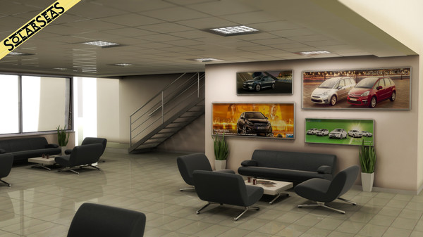 cars included 3d model - CAR SERVICE (cars not included)... by solarseas
