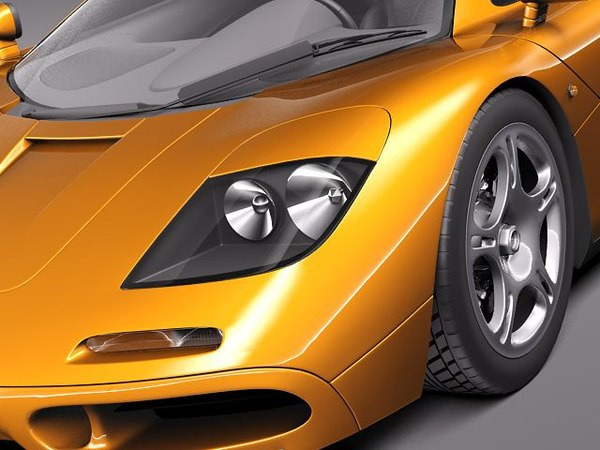 mclaren f1 1994 1998 obj - McLaren F1 1994-1998... by squir