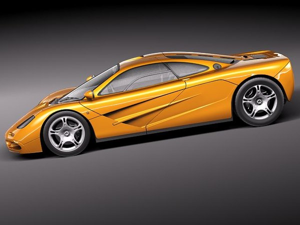 3d mclaren f1 1994 1998 - McLaren F1 1994-1998... by squir
