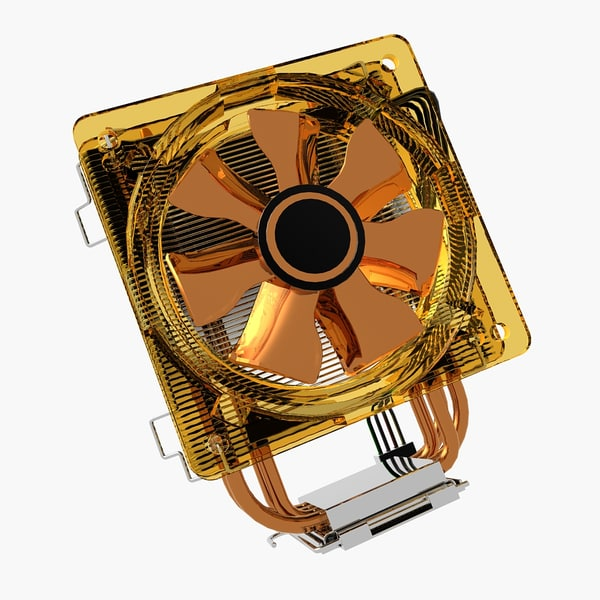 3d model cooler cpu - Cooler.CM.CPU.Opti.MF... by 3DLocker