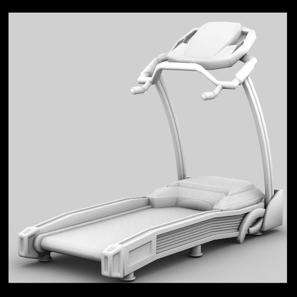 treadmill 3ds - Treadmill Textured... by Litarvan