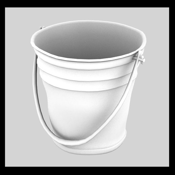 obj metal bucket