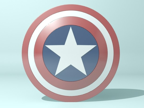 captain america shield max - Captain America Shield... by christiano247