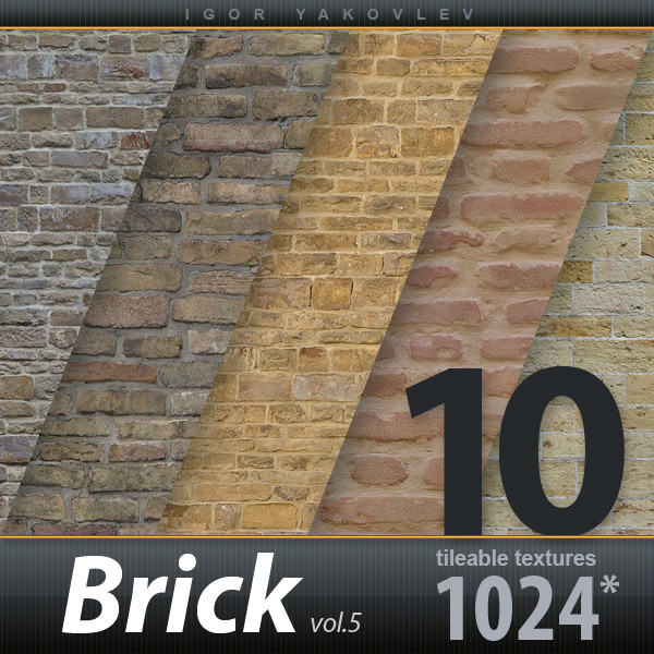 Brick Wall Textures vol.5