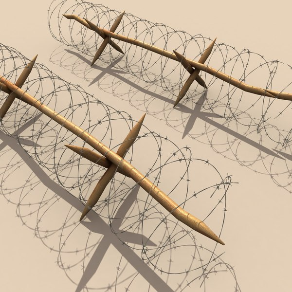 3d barbed wire - barbwire... by 3D Graphics