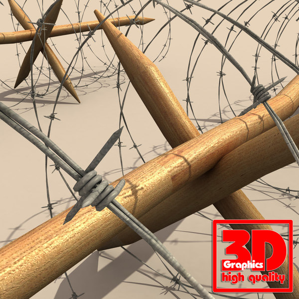 3d barbed wire - barbwire (2)... by 3D Graphics