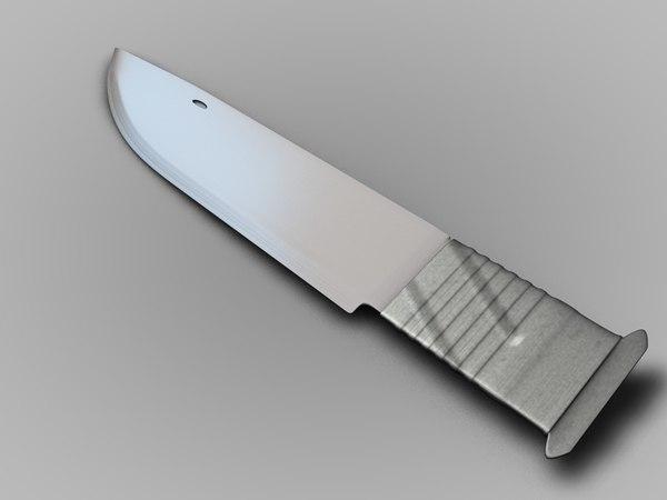 cinema4d combat knife