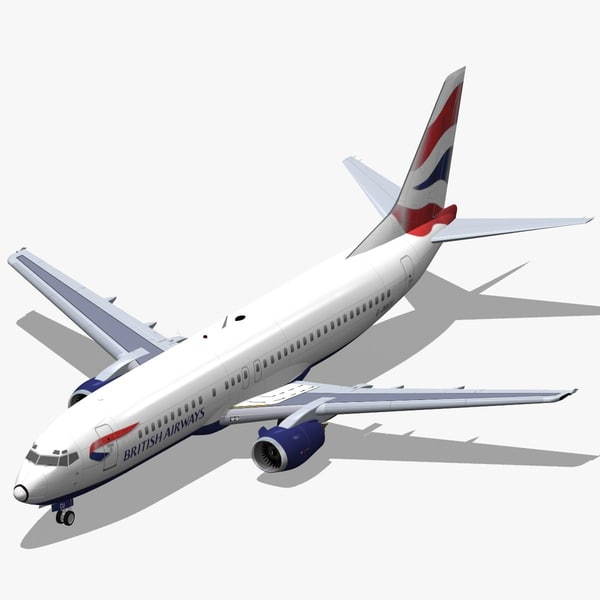 B 737-400 British Airways