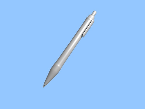 3d model pen click