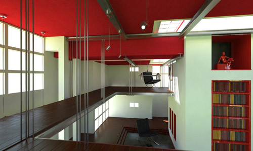 cinema4d buildings interior - DOSCH 3D: Building Interiors for VRay with Cinema4D... by Dosch Design