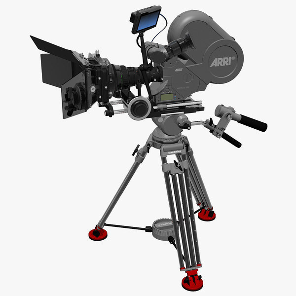 3d arriflex 435 sachtler film camera model