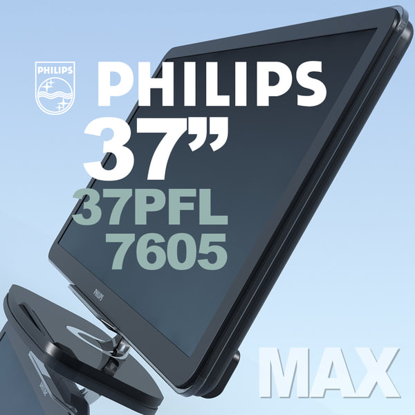 tv philips 37pfl7605 3d max - TV PHILIPS 37PFL7605 MAX... by 3DLocker