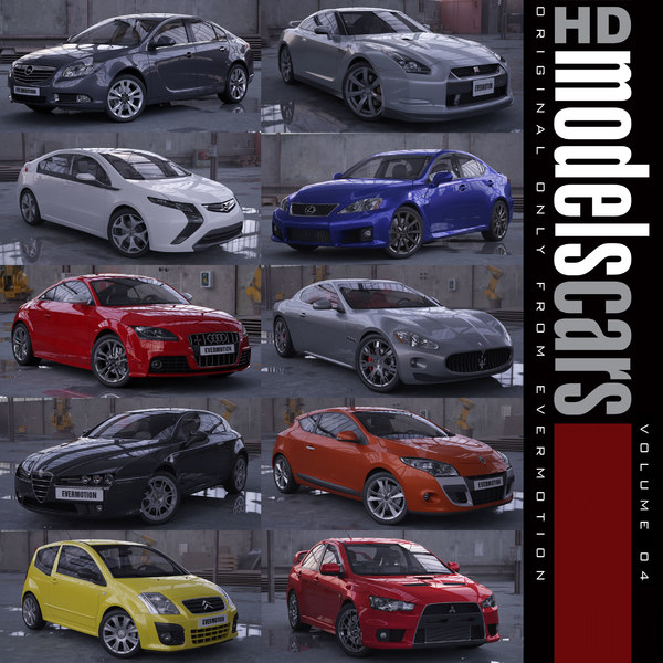 HDModels Cars vol. 4