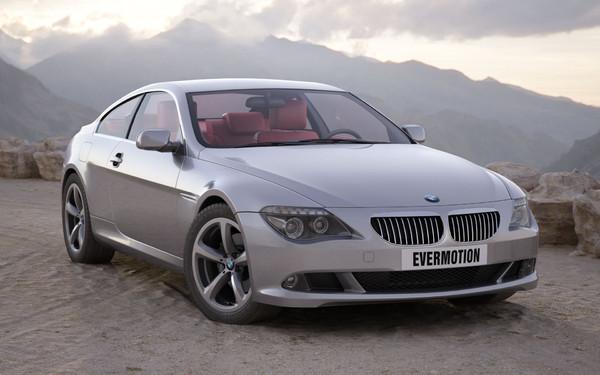 3d model car bmw 6