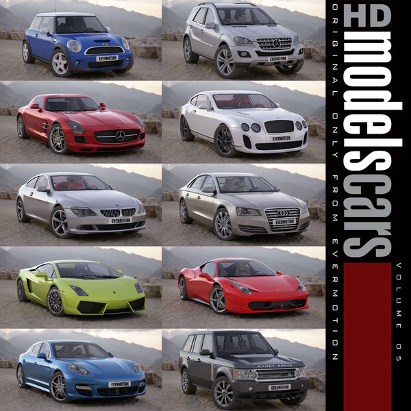 HDModels Cars vol. 5