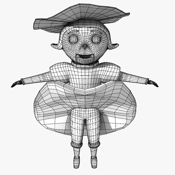 3d model doll rigged - Doll-Rigged... by BlueModels