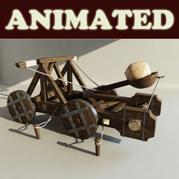 maya catapult - Catapult Animated H... by happyyyy