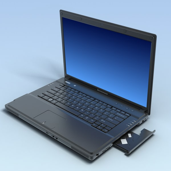 3d model notebook lenovo 3000 g530 - Notebook LENOVO 3000G530LT MAX... by 3DLocker