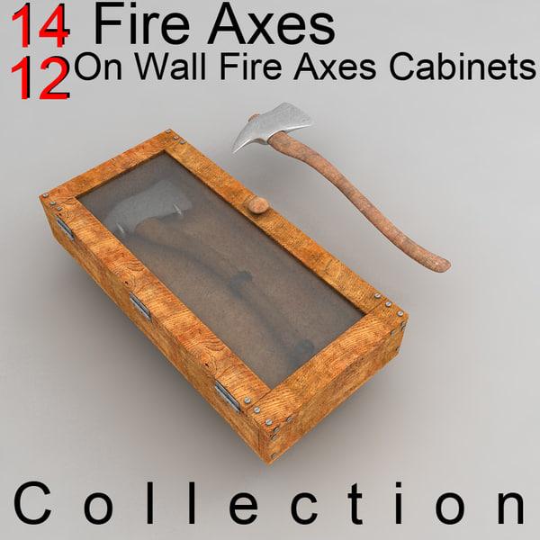 3d axe cabinet