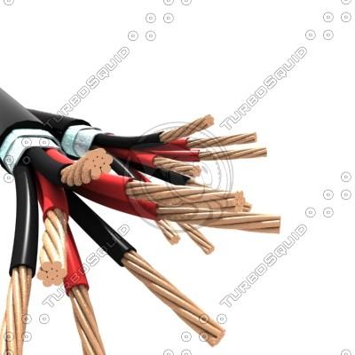 3d max cable cu pvc