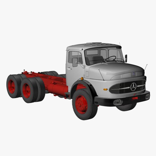 truck lak 2426 6x6 3d 3ds