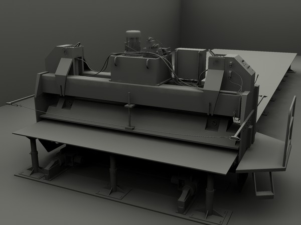 3d model of press factory - Press... by GurnisLV