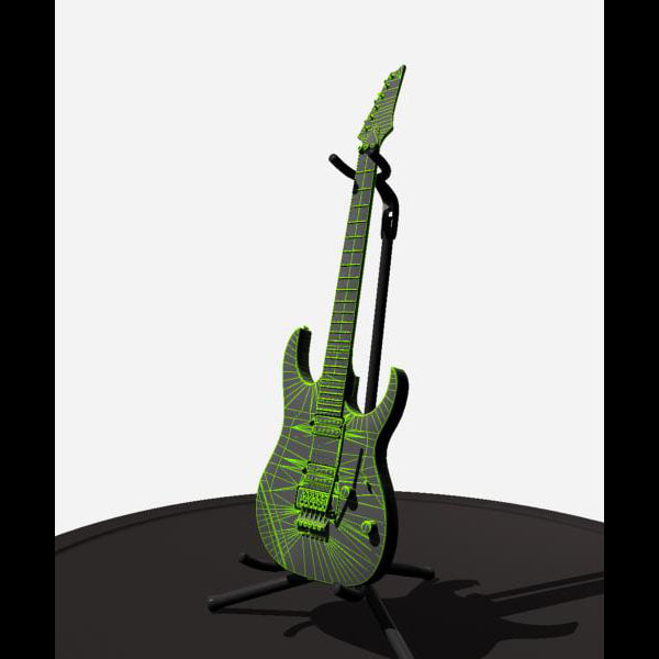 3d electric guitar - Guitar... by Novator666