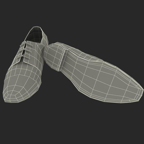 men shoes ana locking max - Men Shoes Ana Locking Blue... by 3d_molier