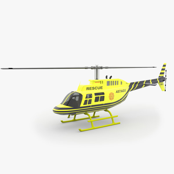 206 Jetranger Helicopter Rescue