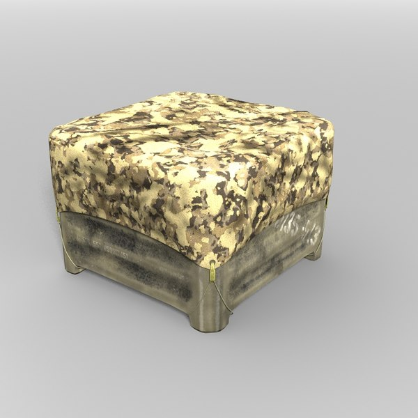3d military storage crate - Military Crate... by yaschan
