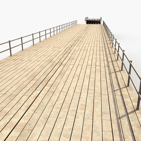 3d max wooden bridge - Wooden Bridge... by 3D Graphics