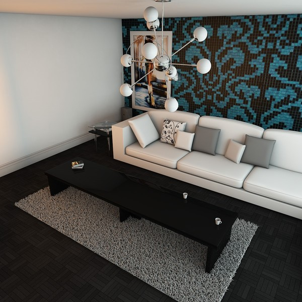 3ds max elegant living room - Elegant Living Room... by KeremGogus