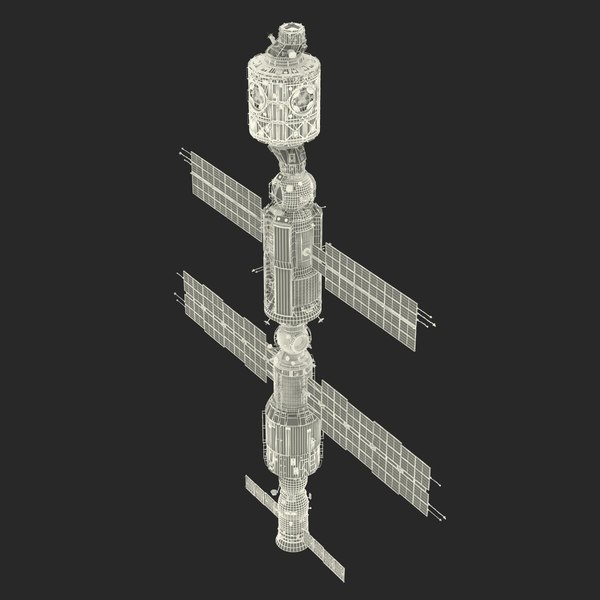 max international space station iss - International Space Station ISS 2000... by 3d_molier