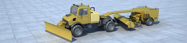 maya vehicles airport - DOSCH 3D - Airport Vehicles... by Dosch Design