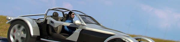 3d 3d: car driver model - DOSCH 3D: Car Driver... by Dosch Design