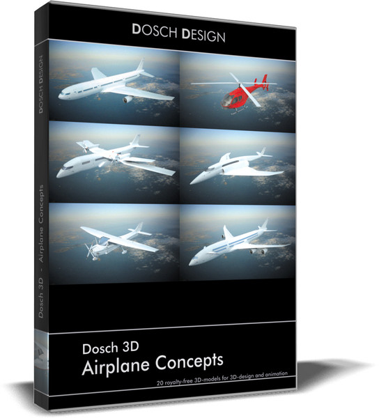 airplanes - max - DOSCH 3D - Airplane Concepts... by Dosch Design
