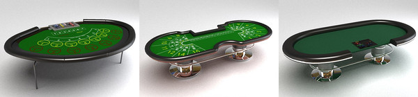 3d model casinos gambling - DOSCH 3D Casino & Gambling... by Dosch Design