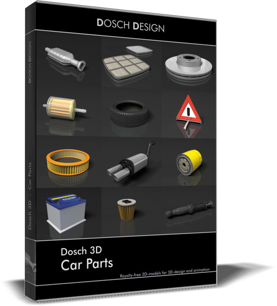 3d car dosch parts model - DOSCH 3D - Car Parts... by Dosch Design
