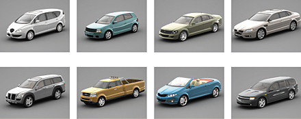 concept cars 3ds - DOSCH 3D - Concept Cars 2007... by Dosch Design
