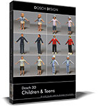 maya babies children teens dosch - DOSCH 3D - Children & Teens... by Dosch Design