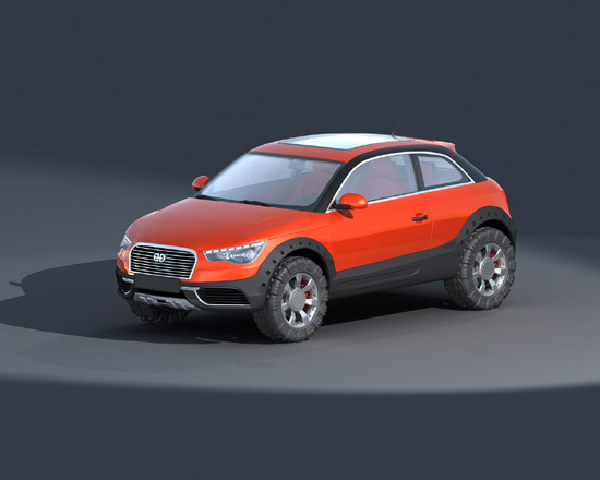 cars concept 1 3ds - DOSCH 3D: Concept Cars 2011 V1.1... by Dosch Design