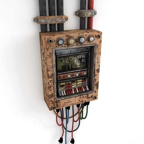3dsmax control panel