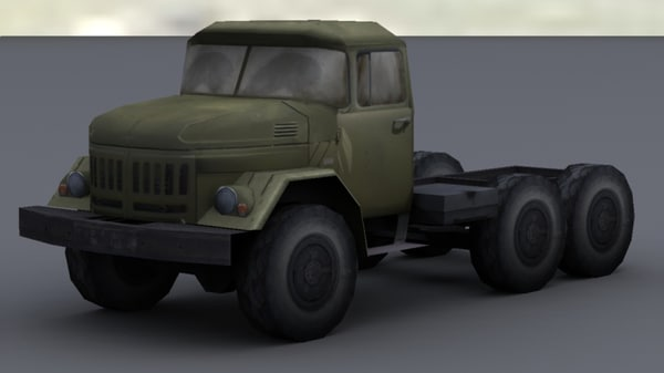 zil-131 3d ma