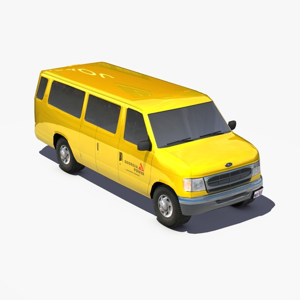 3ds max e350 transit van fords