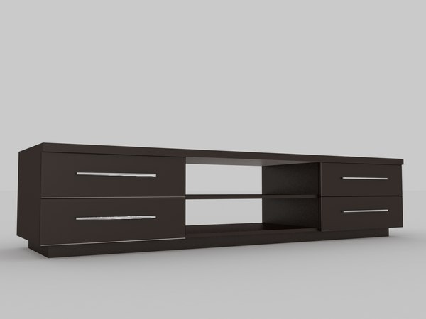 tv table 3d max