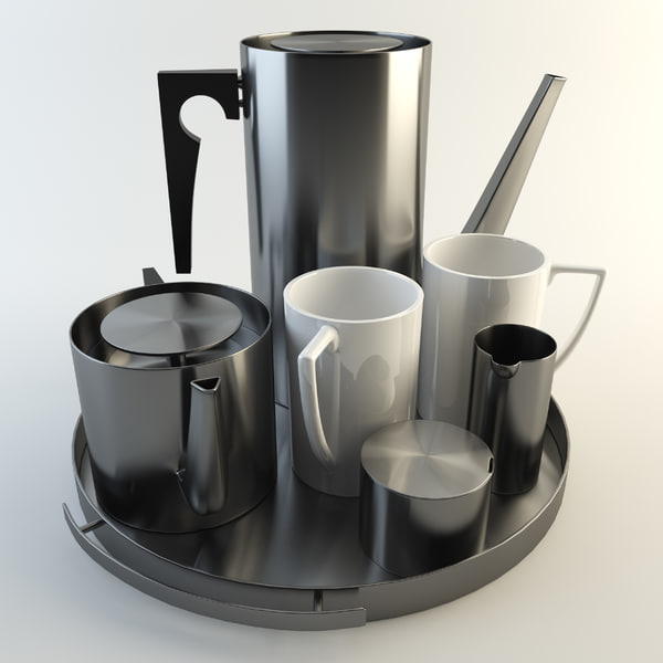 3d model arne jacobson - Arne Jacobson Kitchen Accessories... by Ard Digital
